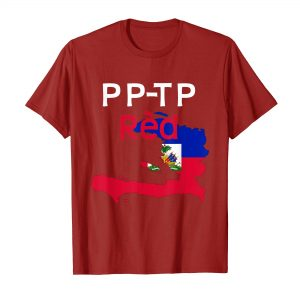 Cute Haitian Flag and Map T-Shirt